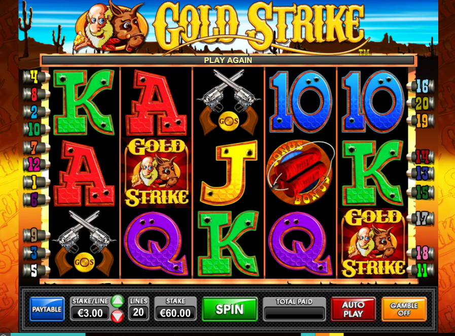 Gold Strike Free Play