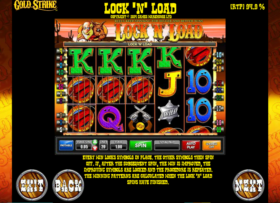 Play Strike Gold Slot Machine Free With No Download